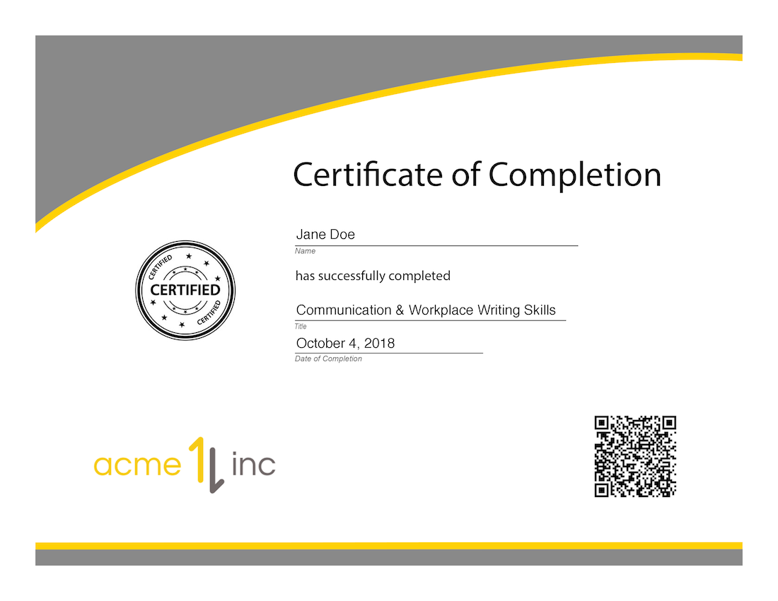 New Certificate Verification Service Firmwater Lms