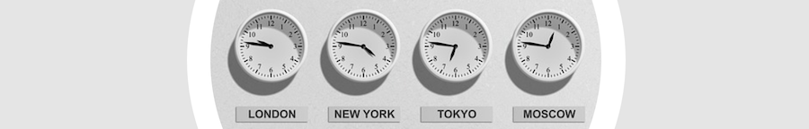 New: Time Zones